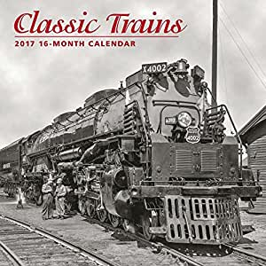 Classic Trains Wall Calendar