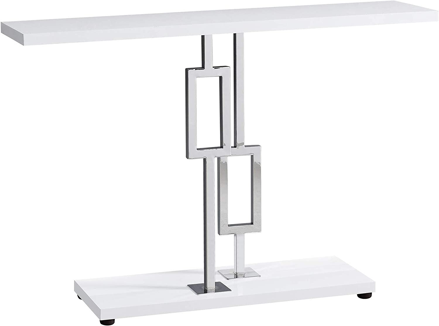 - Amazon.com: Monarch Specialties ACCENT TABLE, WHITE: Kitchen & Dining