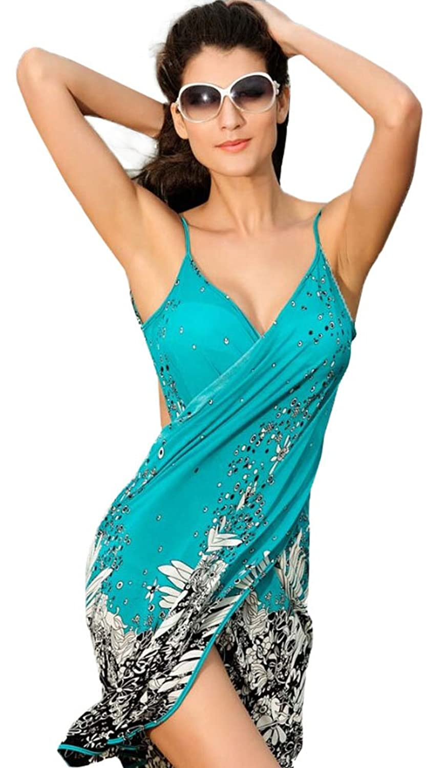 For G and PL Women's Beach Cover Up Dress