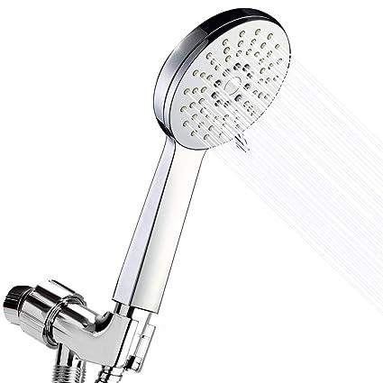 Shower Head   High Pressure Massage Handheld Showerheads With Hose    Removable Flow Restrictor   Best