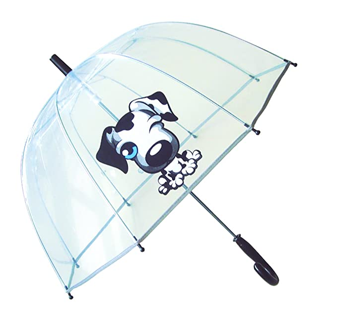 SMATI KidsUmbrella dome transparent - The first umbrella has reflective stripe – extra safty