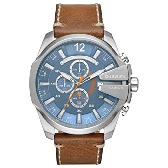 d308be7f0425 Image Unavailable. Image not available for. Color  Watch Diesel Men s Mega  Chief Watch Quartz ...