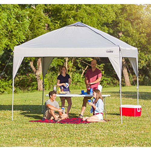 Instant Shelters For Backyards : Core  instant shelter pop up canopy tent with