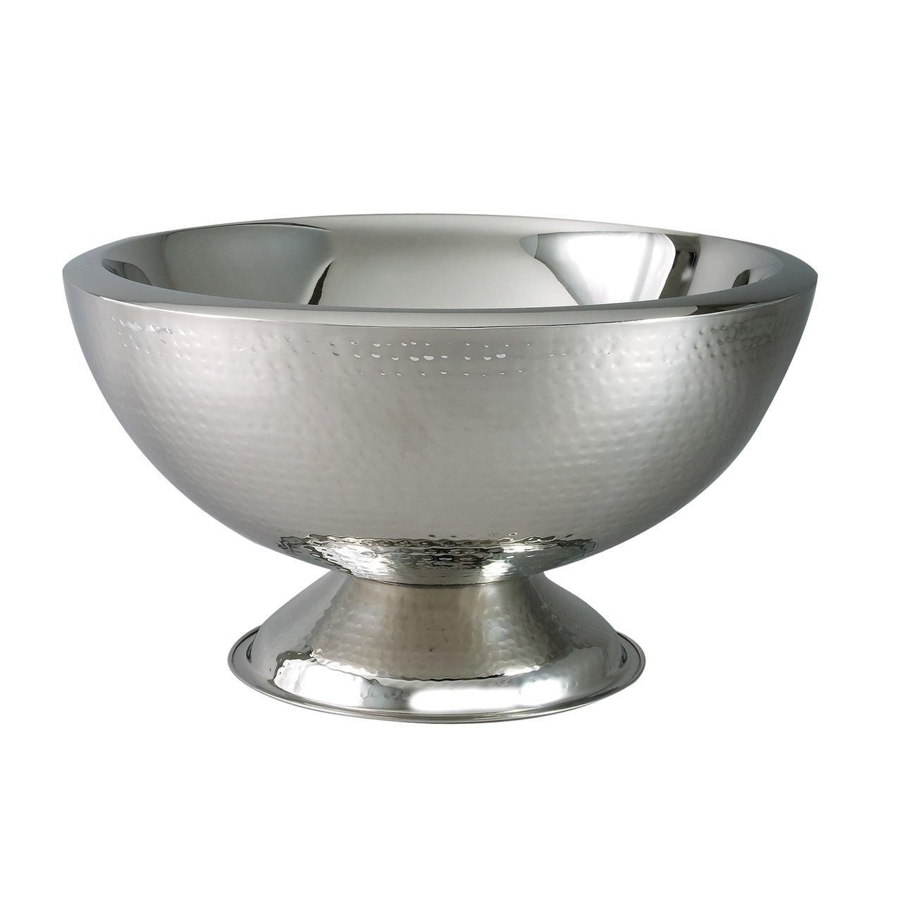 Hammered Punch Bowl DoubleWall 3 gal. by TableTop King by TableTop King (Image #1)