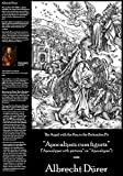 "Albrecht Durer - The Angel with the Key to the Bottomless Pit (Fine Art Print on 11.7"" x 16.5'' Sheet)"