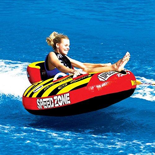 New Sportsstuff Towable Boat Tube 1 Rider SPEEDZONE 1 54IN SPO (Speedzone 1 Towable)