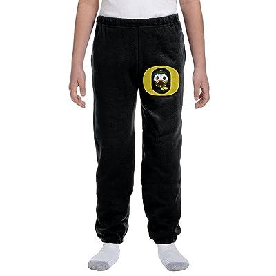 Oregon Ducks 2 Youth Basics Fleece Pocketed Sweat Pants