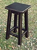 Cheap Black/bar stool/counter stool/wood/ distressed/ 25″-28″-30″ high