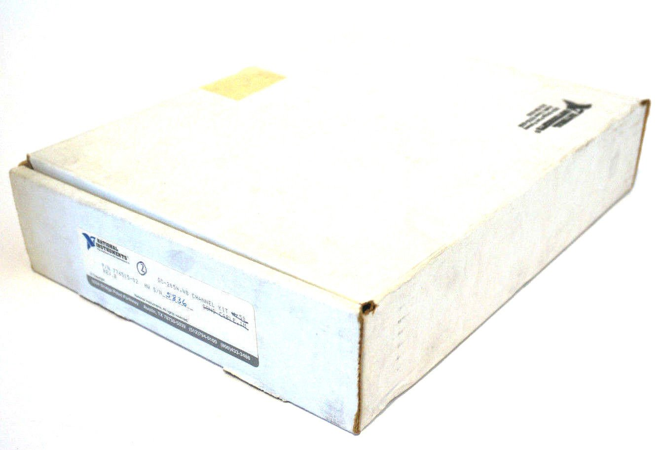 NEW NATIONAL INSTRUMENTS SC-2054 CHANNEL KIT 776515-02 REV. B SC2054