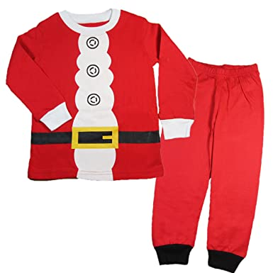 Amazon.com: Toddler Kid Boys Girls Christmas pajama T shirt+long ...