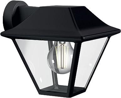 Philips myGarden Aplique - Lámpara de pared de 60 W, aluminio ...