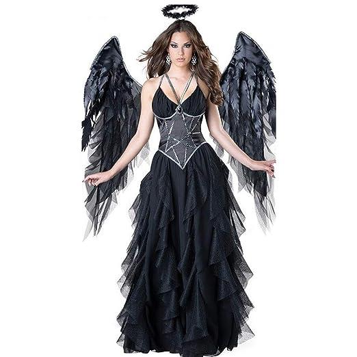 BGROEST-cloth Vestido de Dama de Halloween Disfraz de ángel Sexy ...