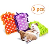 JanYoo Rabbit Guinea Pig Pillow Accessories Sleep Mat Pad Toy Cushion (3 Pcs)