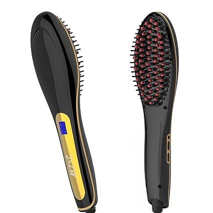 Jxz-H - Plancha Cepillo alisador de pelo, placa aufrichtung Pincel eléctrico Calefacción Ccerámica, panel detang Ling ...