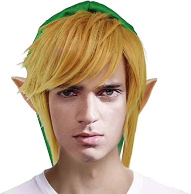 The Legend of Zelda Hyrule Warriors Link Cosplay wig
