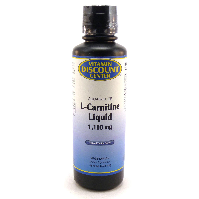 L-Carnitine Liquid 1100mg, Natural Vanilla Flavor 16oz