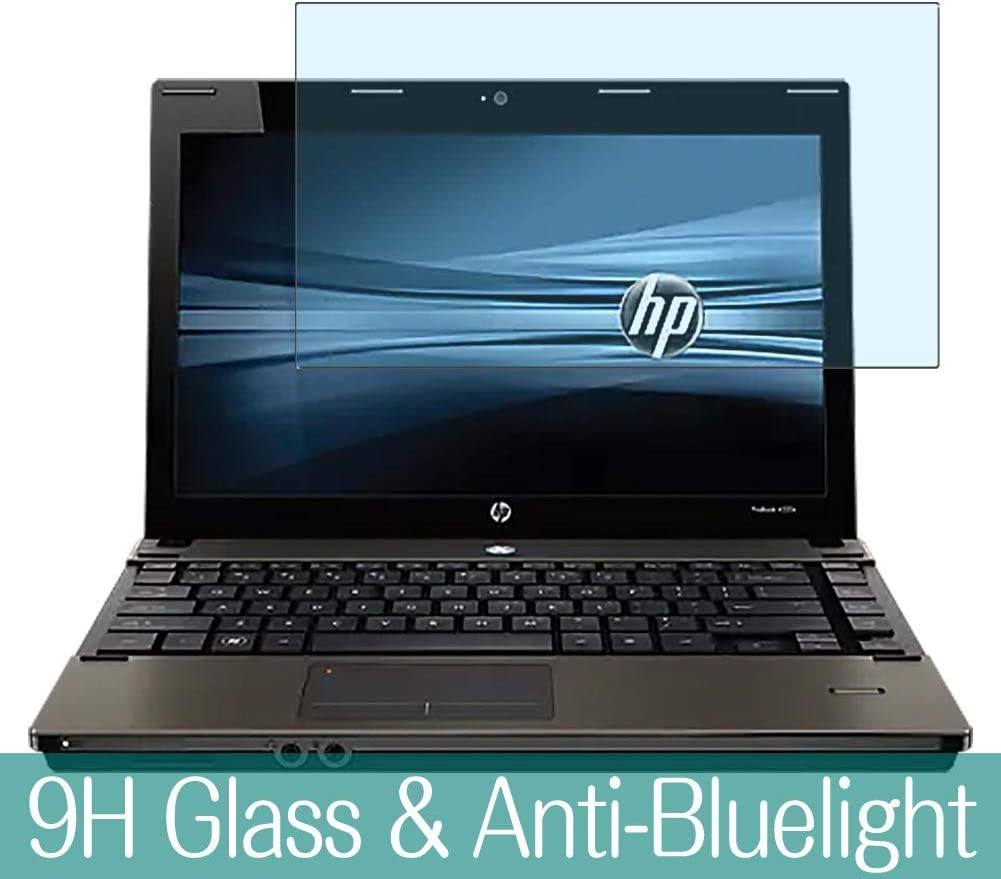 """Synvy Anti Blue Light Tempered Glass Screen Protector for HP ProBook 4525s 15.6"""" Visible Area 9H Protective Screen Film Protectors"""