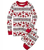 Dertring Christmas Xmas Pajamas Set Deer Sleepwear Nightwear Family Pyjamas Gift