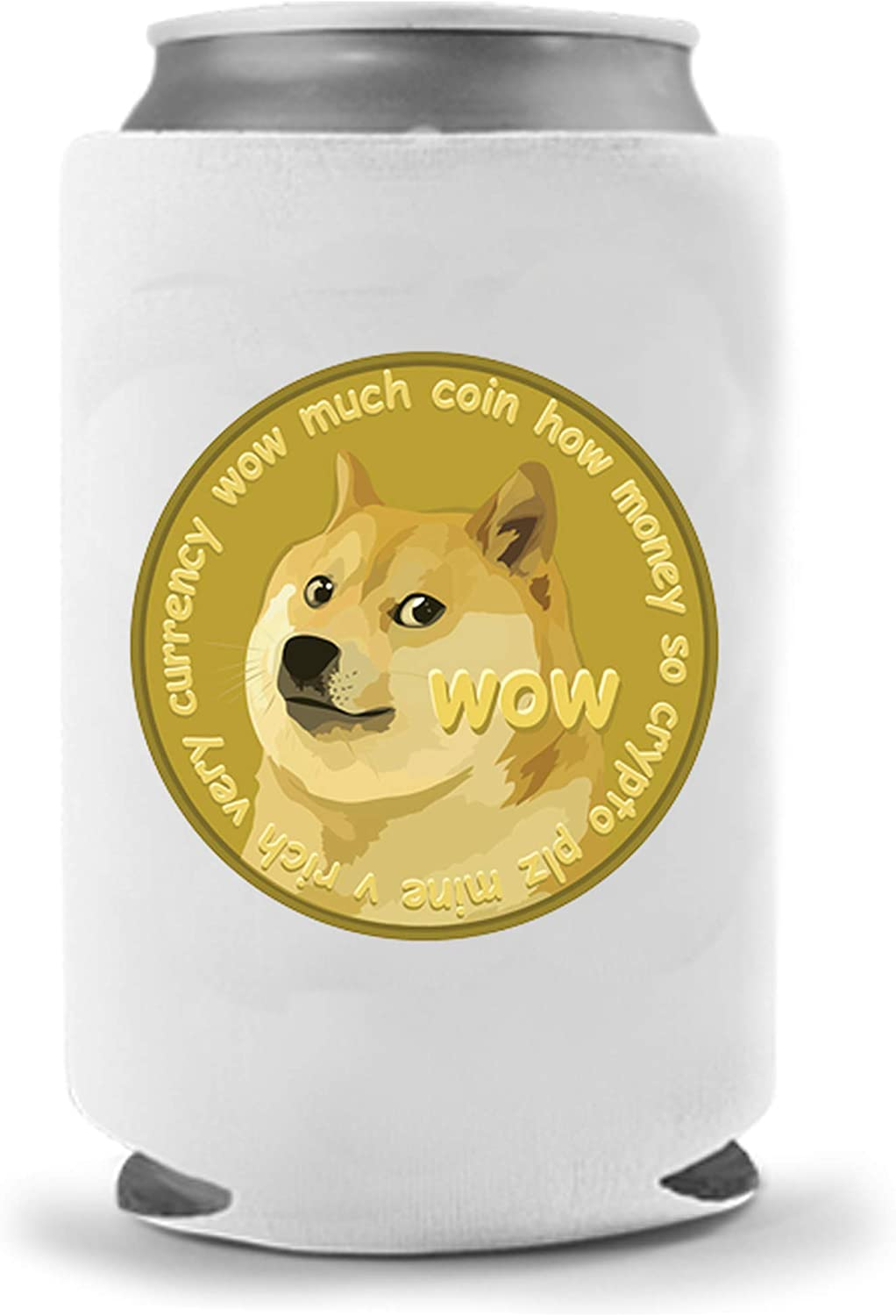Funny dog themed beer can cooler//dog lover//beer lover//Drinking//Funny drinks gift