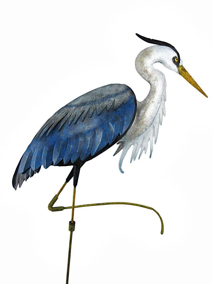 Amazon.com : Regal Art U0026 Gift R282 Heron Standing Art, Large : Garden  Stakes : Garden U0026 Outdoor