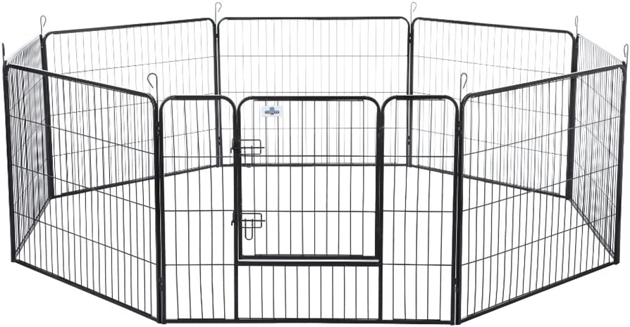 Confidence Pet Heavy Duty 8 Panel Playpen Dog Play Pen Training Exercise Yard