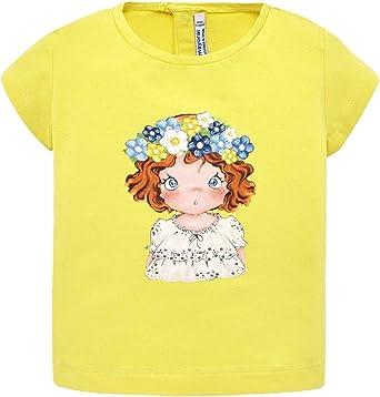 Mayoral Camiseta De Algodón con Estampado, 9 Meses (74 Cm), Amarillo: Amazon.es: Ropa y accesorios