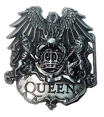 Queen British Rock Band Metal Belt Buckle - Queen Buckles