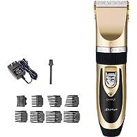 Electric Professional Hair Clipper Titanium Ceramic Blade Rechargeable Hair Trimmer For Men Kid Hair Cutting Machine 110-240V AC
