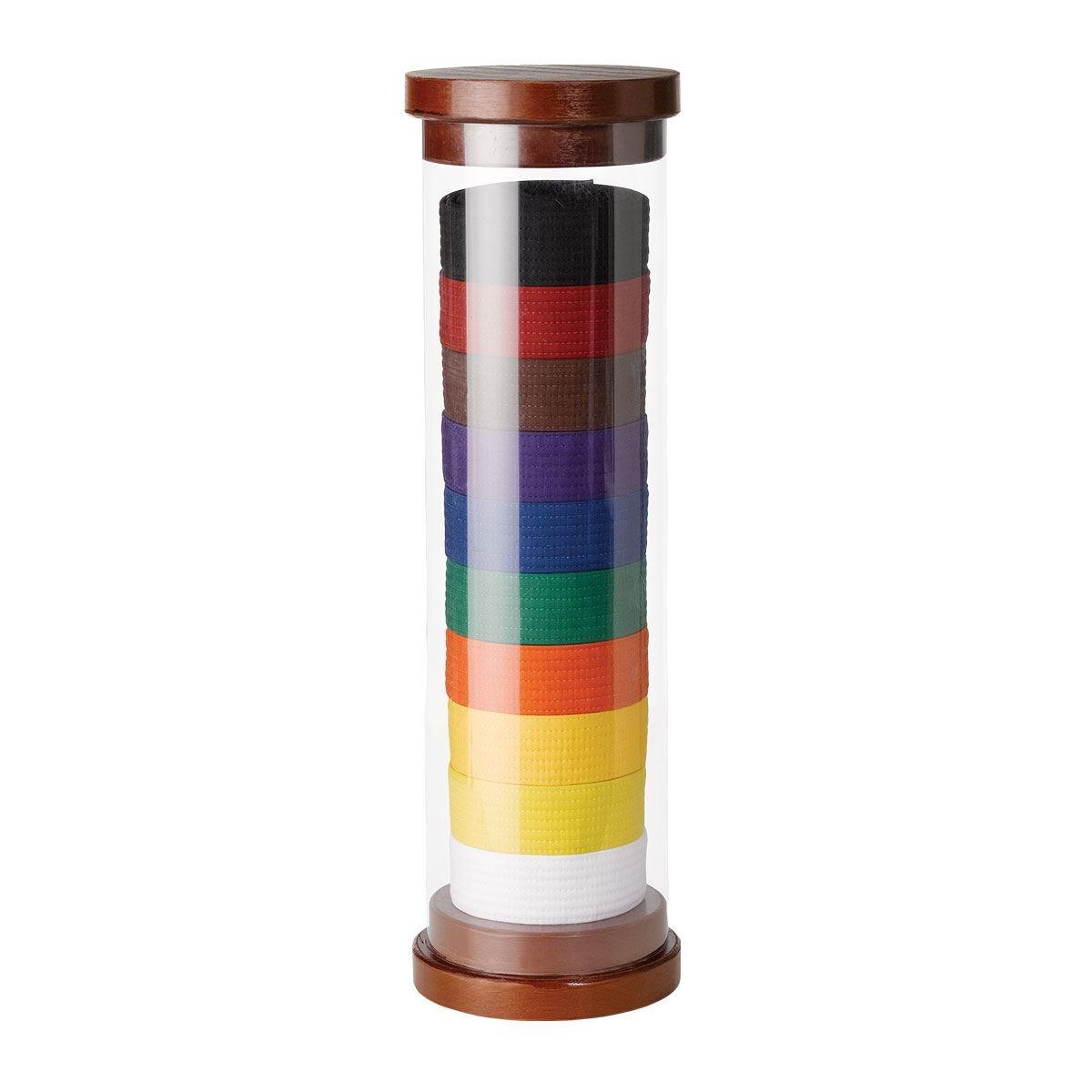 Karate belt display ideas - Amazon Com Century Martial Arts Cylinder 10 Level Belt Display Sports Outdoors