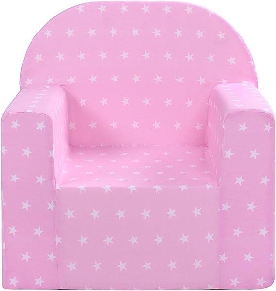antiallerg/énique Farbe:Mint meubles pour enfant l/éger et doux LULANDO Fauteuil pour enfant Plush Minky certifi/é Oeko-Tex Standard 100