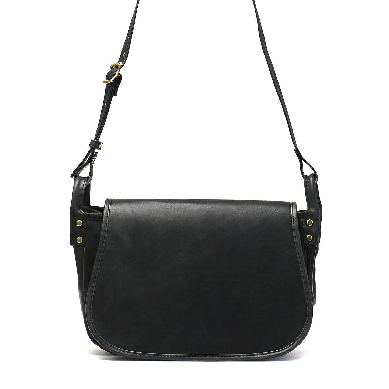 [スロウ]SLOW vintage horse hunting shoulder bag L ヴィンテージホース ショルダーバッグ 49S120G B0788BLK3Cブラック(10)