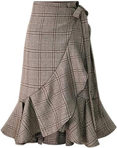 Mujeres Faldas Elegantes Largo Faldas Mujer Verano Falda Mujer ...