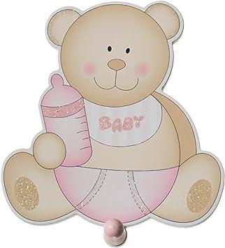 Bieco oso perchero bebé niña: Amazon.es: Bebé