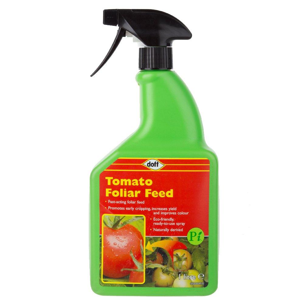 1 x Doff Garden Tomato Foliar Feed - Plant Feed - 1 Litre