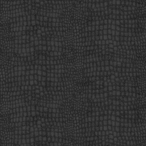 Graham & Brown 32-659 Crocodile Black Wallpaper, (Crocodile Texture Wallpaper)