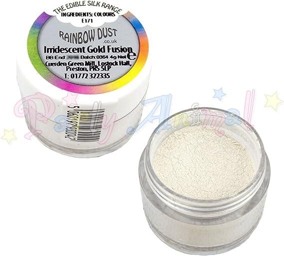Rainbow Dust Edible Cake Decoratng Glitter CHOOSE FROM SILK IRRIDESCENT RANGE
