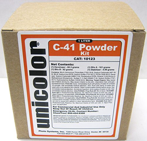 Ultrafine Unicolor C-41 Powder Developer Kit (1 Liter) by Unicolor