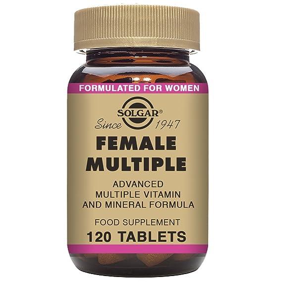 Solgar Female Múltiple Comprimidos - Envase de 120: Amazon.es: Salud y cuidado personal
