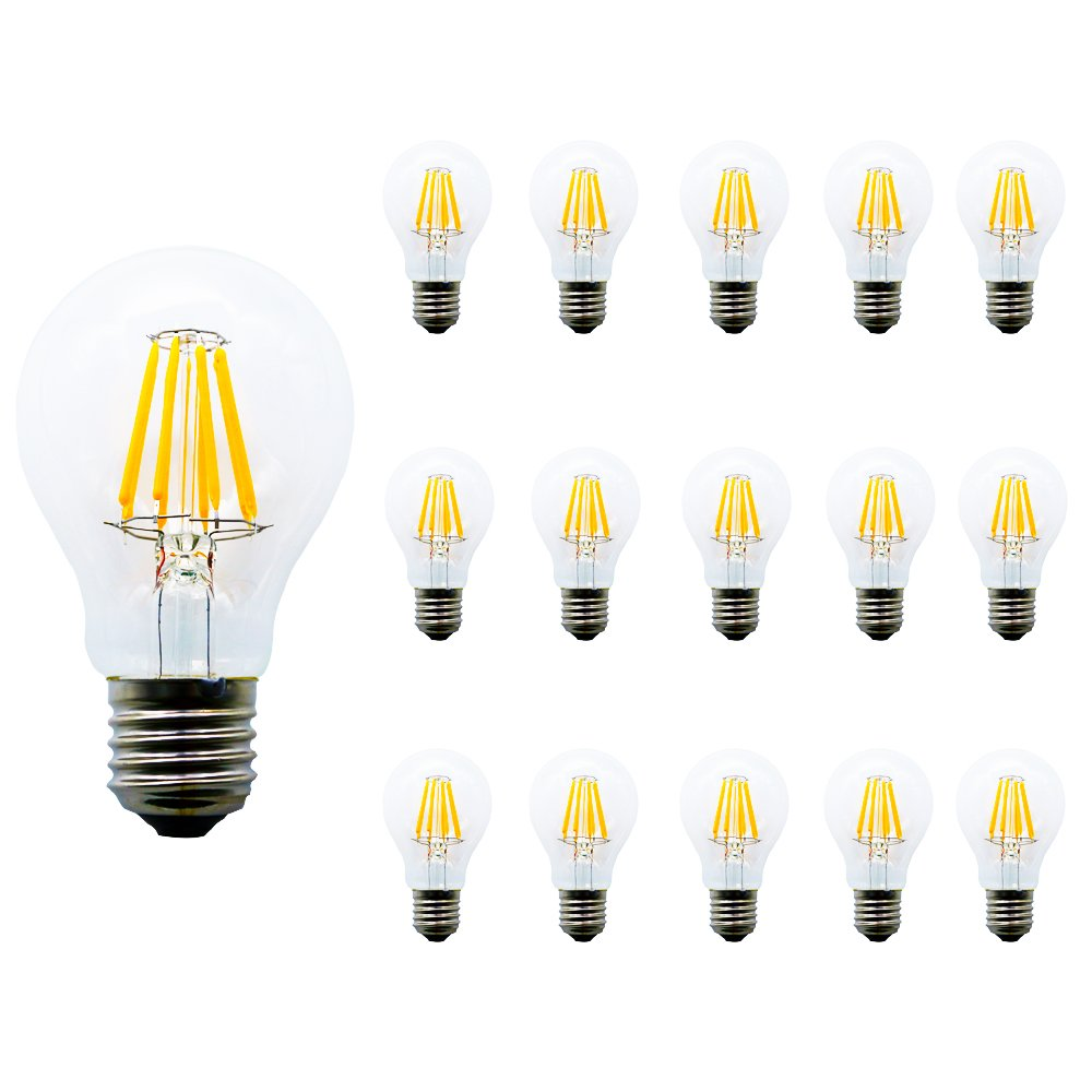 15 X Mengjay®8W lámpara blanco cálido vitrocerámica ...