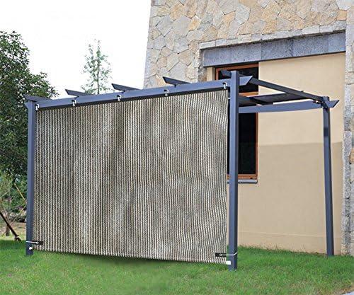 shatex Shade Tela 90% sol bloque vertical pantalla de ojal diseño ...