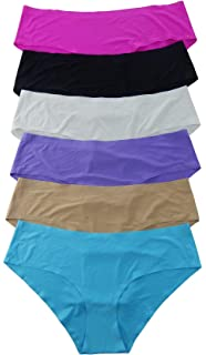 e1ce22a267 Women Panties 12 Pack of Smooth No Line Lasercut Biniki Thong Boxer  (Various Styles)