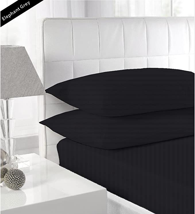 Details about  /Tremendous Bedding Collection Deep Pocket Egyptian Cotton Queen Size All Striped