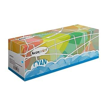 Acceprint 205A CF531A Cartucho de tóner Cian para HP Color ...