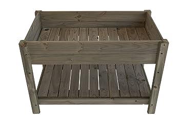 Destock-garden Table de Jardinage en Bois, Traité Autoclave ...