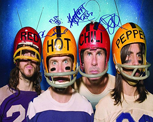 red-hot-chili-peppers-football-helmets-autographed-8x10-preprint-signed-photo