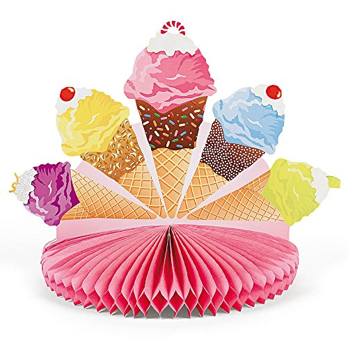 Price comparison product image Fun Express I Scream Ice Cream Centerpiece