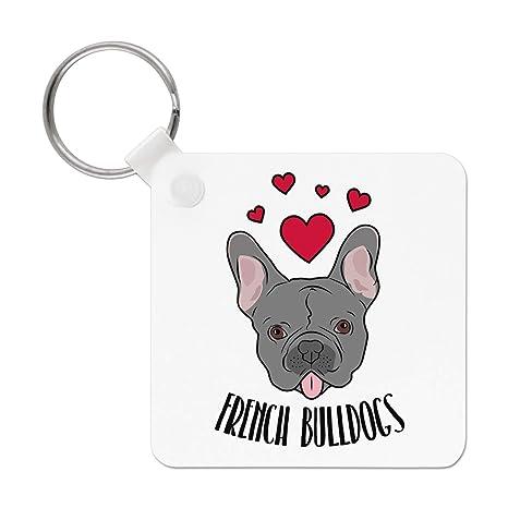 Gift Base Love Bulldogs Francés Llavero: Amazon.es: Amazon.es