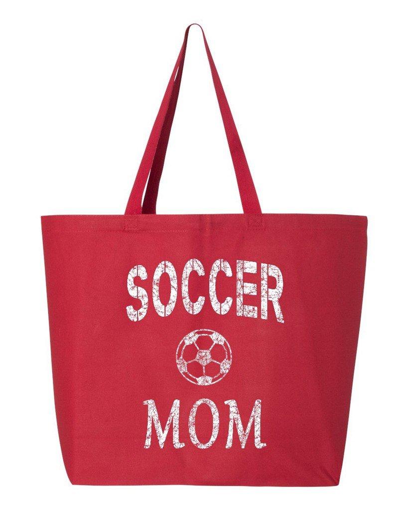 【同梱不可】 shop4ever Soccer Mom Heavyキャンバストートバッグ母の日再利用可能なショッピングバッグ10オンスジャンボ 25 oz oz B06XX3W8Z8 レッド Mom S4E_1215_SoccerMom_TB_Q600_Red_1 B06XX3W8Z8 レッド, 工作素材の専門店!FRP素材屋さん:effd47ab --- mcrisartesanato.com.br