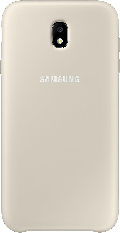 SAMSUNG Dual Layer Cover - Carcasa Galaxy J7 2017, Color Dorado ...
