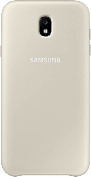 SAMSUNG Dual Layer Cover - Carcasa Galaxy J7 2017, Color Dorado ...
